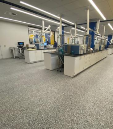 Resinous Flooring for Biotech Facility